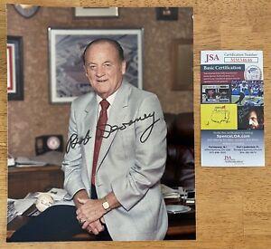 Bob Devaney Signed Autographed 8x10 Photo JSA Certified Nebraska Cornhuskers