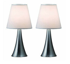 Table Lamp Set Of 2 Lamps Touch Light Lights Modern Desk