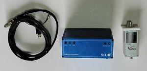 SII Vortex Electronics Multi-Element Silicon Drift Detector X-Ray Spectrometer