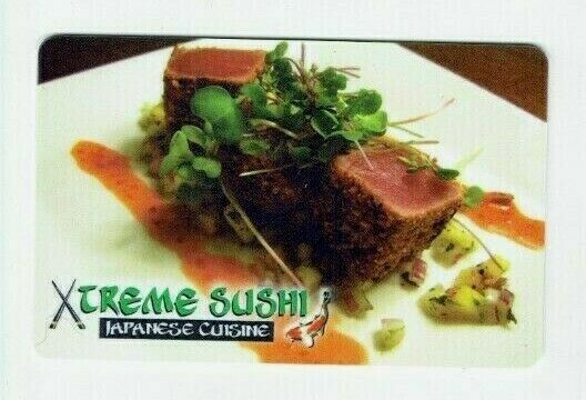 Xtreme Sushi Gift Card - Japanese Cuisine Restaurant / Food - No Value