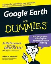 Google Earth for Dummies by David A. Crowder (2007, Paperback)