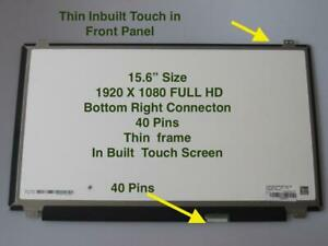 Details about Dell Inspiron P75F P75F001 LCD LED Touch Screen 15 6