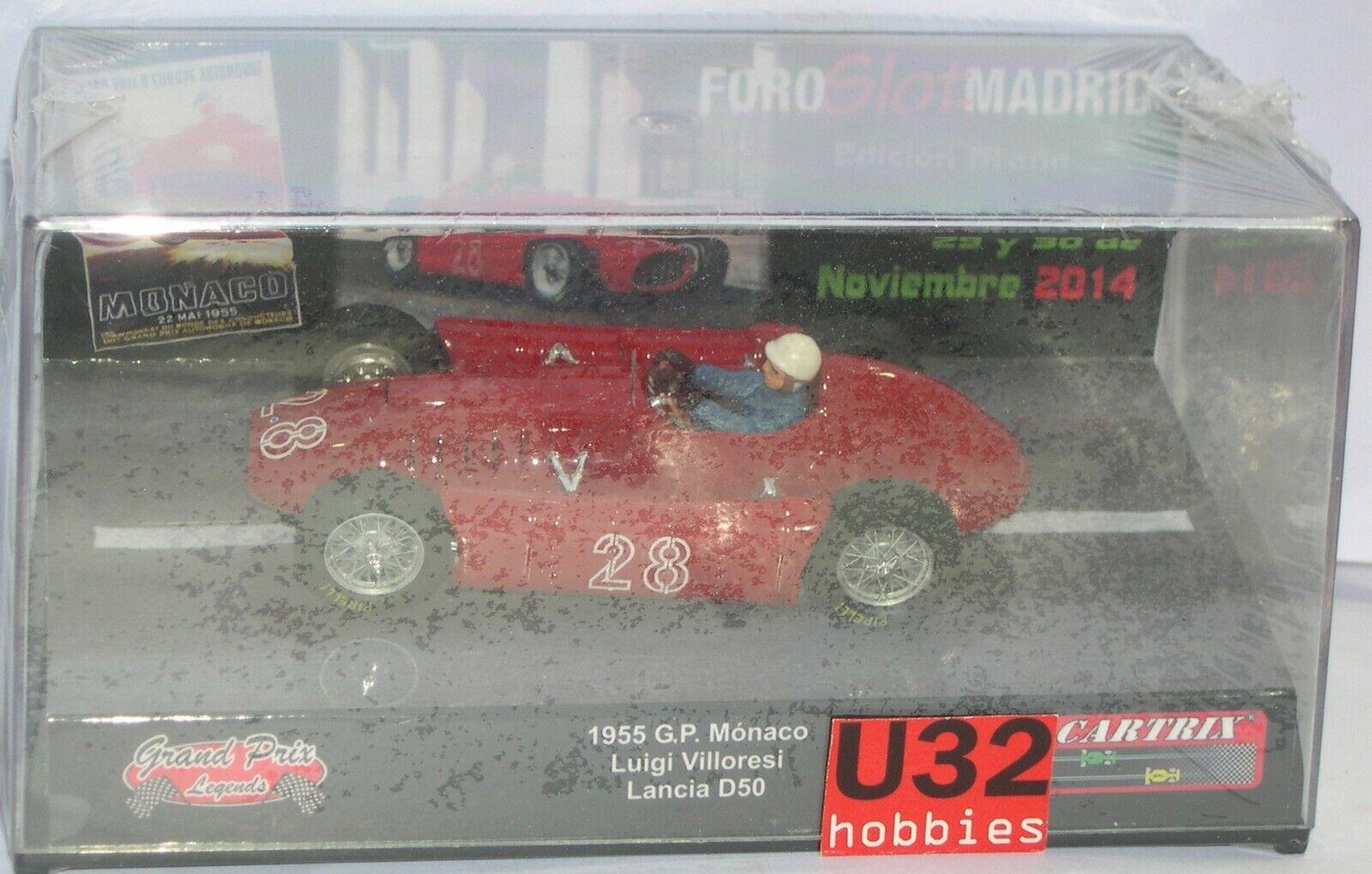 promozioni di sconto autotrix autotrix autotrix 0034 Lancia D50  28 G. ,P.Monaco 1955 Villoresi Foroslot Madrid Autunno  sconto online di vendita