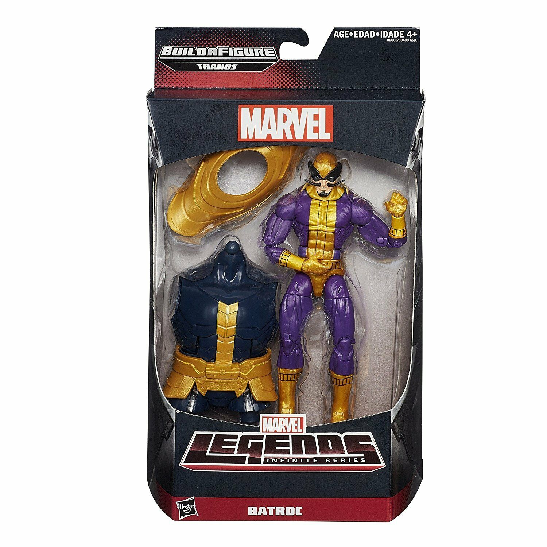 Marvel - legenden unendliche serie thanos - batroc der leaper actionfigur hasbro
