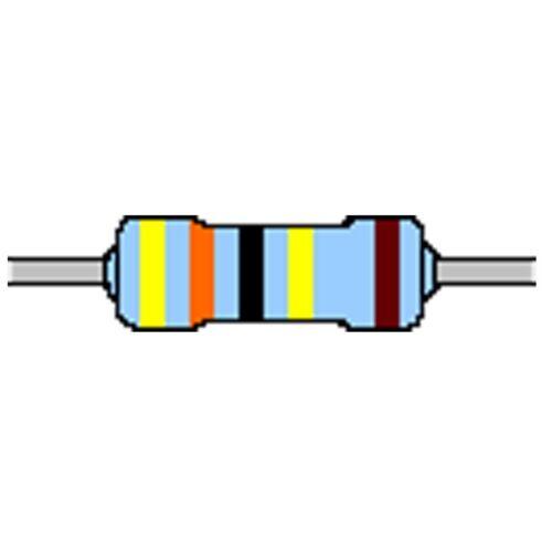Metallschicht-Widerstand 4,3 MOhm 1/% 0,6W Bauform 0207 gegurtet