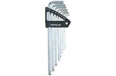 Topeak DuoHex Wrench Set TPS-SP40 8 Tools 1.5// 2// 2.5// 3// 4// 5// 6// 8 mm 235g
