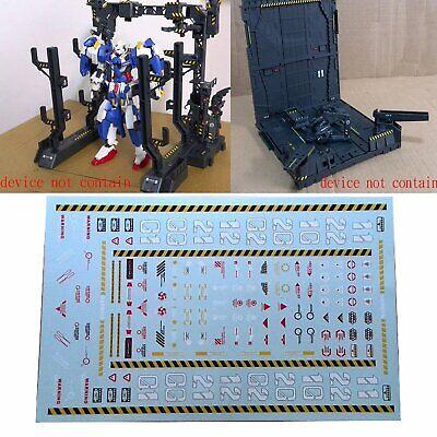 Aufkleber Abziehbild Sticker Warnung Decal für Machine Nest Gundam Modell MSG