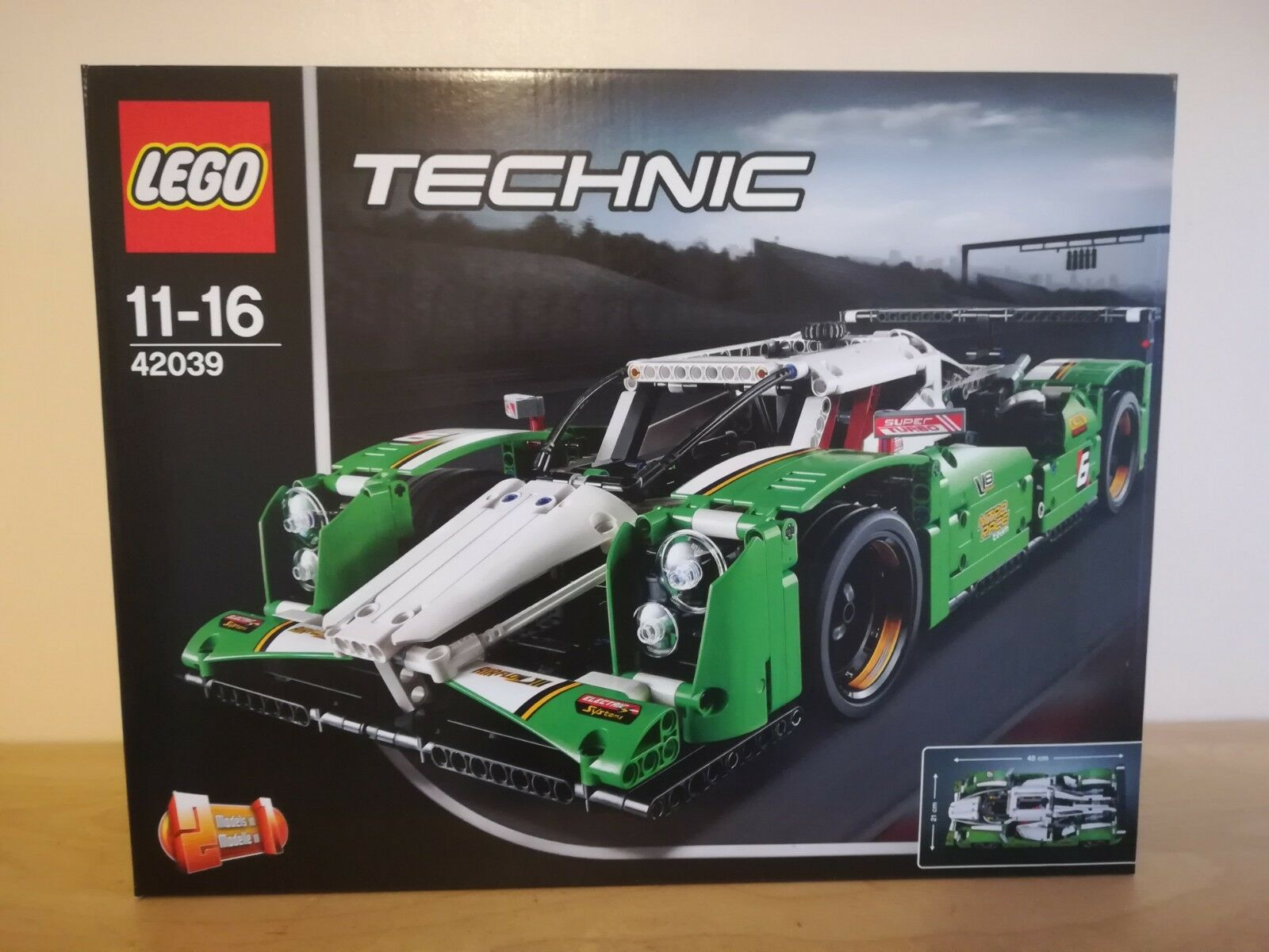 Lego Technic 42039 24 HOUR RACE CAR - Brand new sealed box