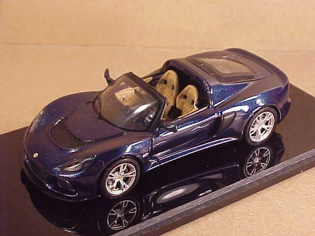 Spark #S2223 1/43 Résine LOTUS EXIGE S Haut Ouvert Roadster,LHD ,Bleu Foncé | Conception Moderne  | élégant  | Beau  | Nouvelle Arrivée