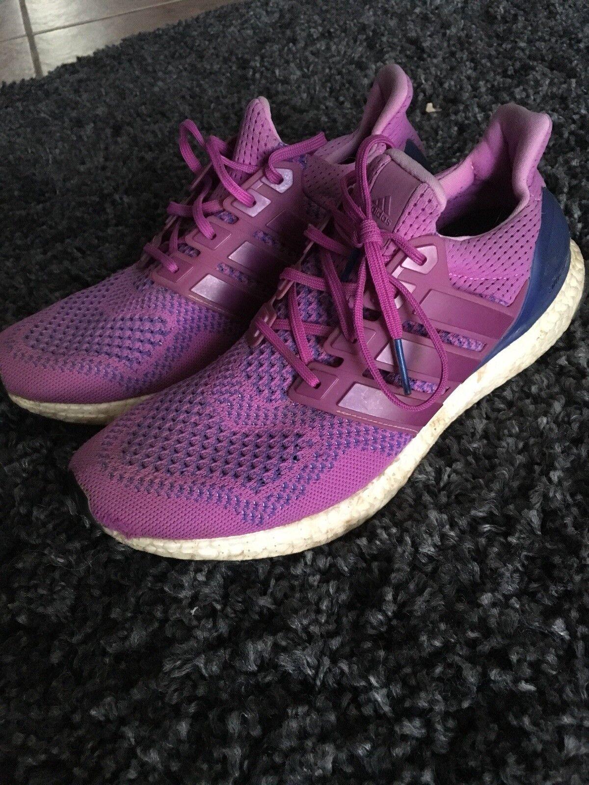 Adidas Ultra Boost 1.0 Purple Flash Pink B34051 Womens Sz 11 Mens 10