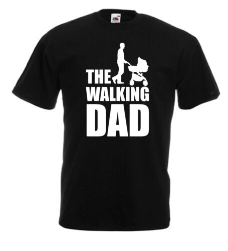 The Walking Dad funny Christmas Fathers Day T Shirt Tee Gift Comic