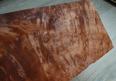 "4 sheets Walnut wood veneer ~1//45″ 0.55 mm 47 x 21 cm ~ 18.5 x 8.26/"""