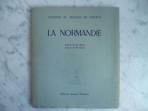 Visión Y Cuadros de France La Normandie Vautrin 1947 E.O Ilustrado