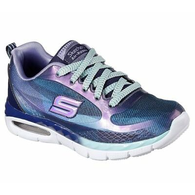NEW SKECHERS Girls Sneakers Trainers Shoes FlexSole AIR-APPEAL-DAZY DASH blue
