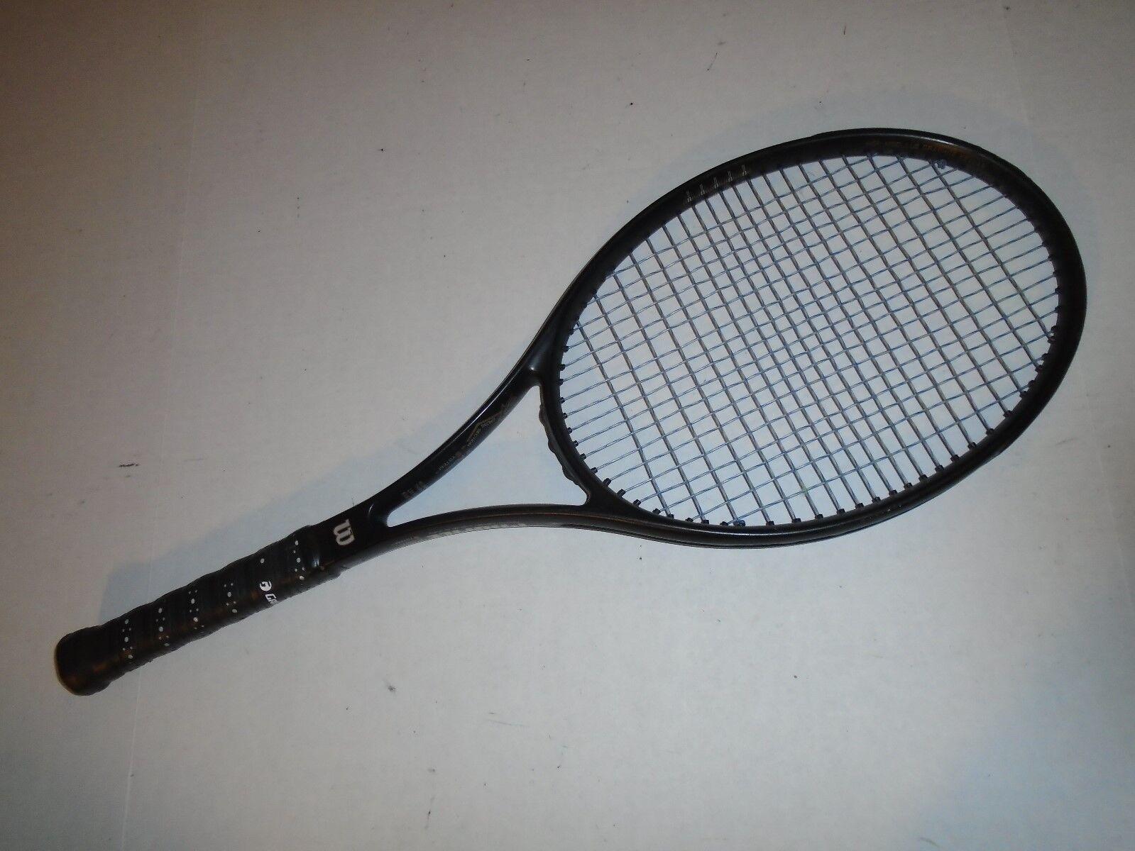 1993 Wilson Profile SPS 95 Tennis Racquet. 4 1 8. 9.65 oz. VG.