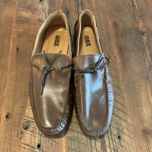 GBX-Henley-Mens-Brown-Leather-Loafer-Slip-On-Shoes-Driving-Moccasins-Size-11-5-D
