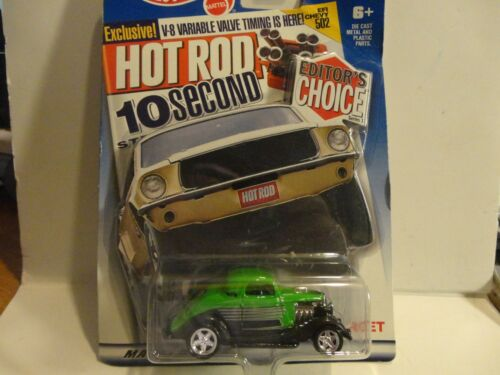 Hot Wheels Target Exclusive Editors Choice Green 3-Window /'34 Coupe w//PC Wheels