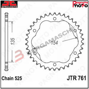 A51076138-JTR761-38-CORONA-TRASMISSIONE-JT-SPROCKETS-761-Z38