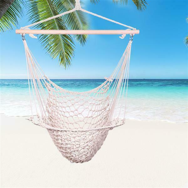 Prime Garden Deluxe Cotton Rope Swing Chair For Sale Online Ebay