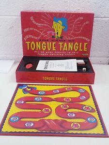 Il-gioco-della-lingua-groviglio-BOARD-GAME-da-SPEARS-completo-e-Inscatolato-Vintage