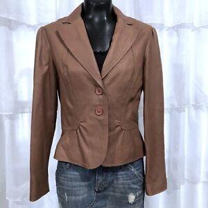 Medium-TAHARI-Womans-Soft-Buttery-Leather-Blazer-Jacket
