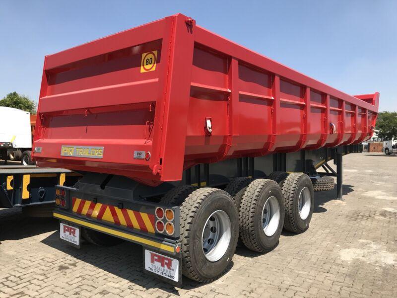 New PR trailer sloper tippers