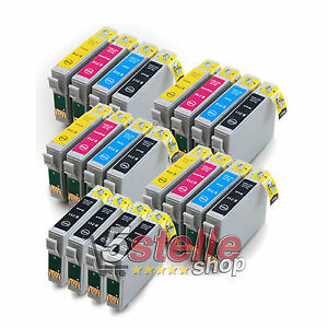 KIT-20-CARTUCCE-PER-STAMPANTE-EPSON-STYLUS-SX410-SX-410-NERO-COLORE