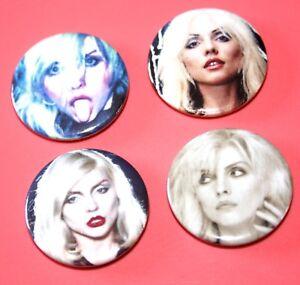 Set-Of-Debbie-Harry-Blondie-punk-rock-pop-Button-Pin-Bagdes