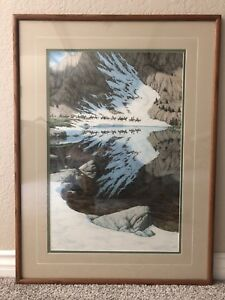 BEV-DOOLITTLE-034-SEASON-OF-THE-EAGLE-034-Signed-amp-Numbered-by-the-artist