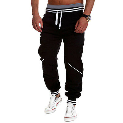 Mens New Jogger Dance Sportwear Baggy Harem Pants Slacks Trousers Sweatpants