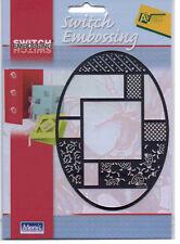 Stencil/Switch/Emboss/Oval/Ladybird/Leaf/Frame/4.054.078