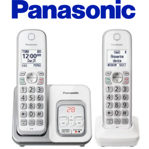 Details about Panasonic KX-TGD532W Cordless Phone Call Block Answering  Machine Handsets