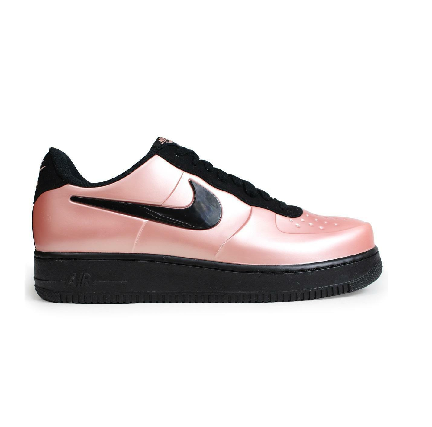 Mens NIKE AF1 FOAMPOSITE PRO CUP Coral Stardust Trainers AJ3664 600