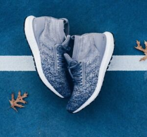 5e56f32579c45 Adidas Ultra Boost All Terrain Heather Grey Noble Indigo Blue BB6128 ...