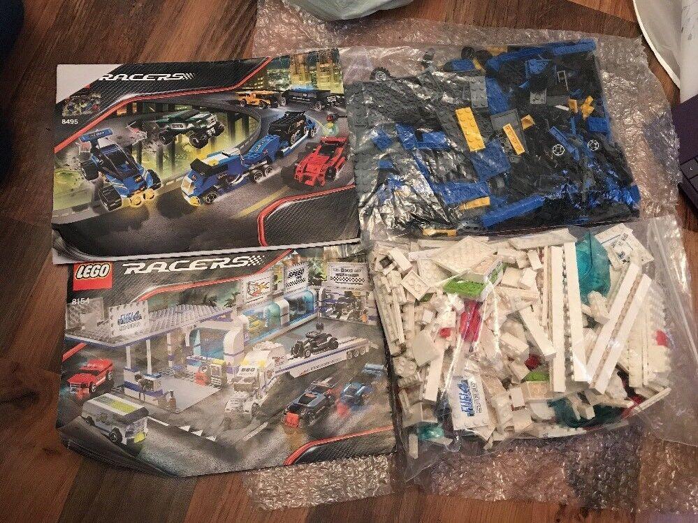 LEGO RACERS 8495 e 8154 Feul Stazione E Camion