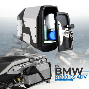 Stainless-Tool-Box-Waterproof-For-2004-2019-BMW-R1200GS-LC-Adventure-R1250GS-ADV
