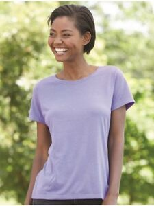 Hanes-Women-039-s-Modal-Triblend-T-Shirt-MO150