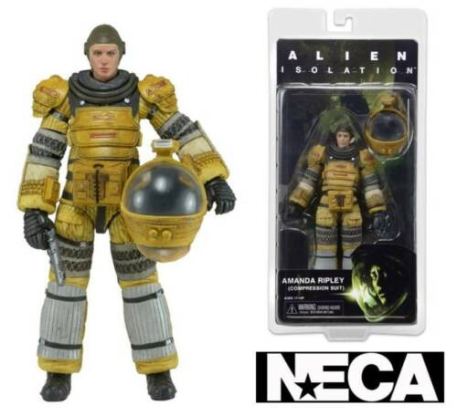Action figure Alien Isolation Amanda Ripley Compression suit Serie 6 Neca
