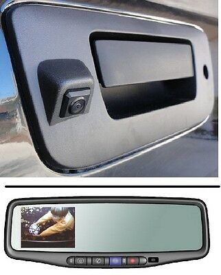 OEM GM GNTX-657 Auto Dim OnStar BACKUP CAMERA Mirror w//Video Cable