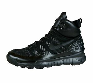 ever popular buy popular cheaper Details about Nike Lupinek Flyknit Defender Black Oreo Cargo Trail Sneaker  Boots Shoes Mens