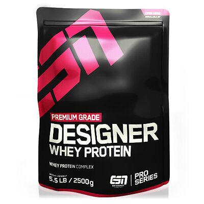 ESN Designer Whey Protein, Big Pack 2500g - Direkt vom Hersteller!