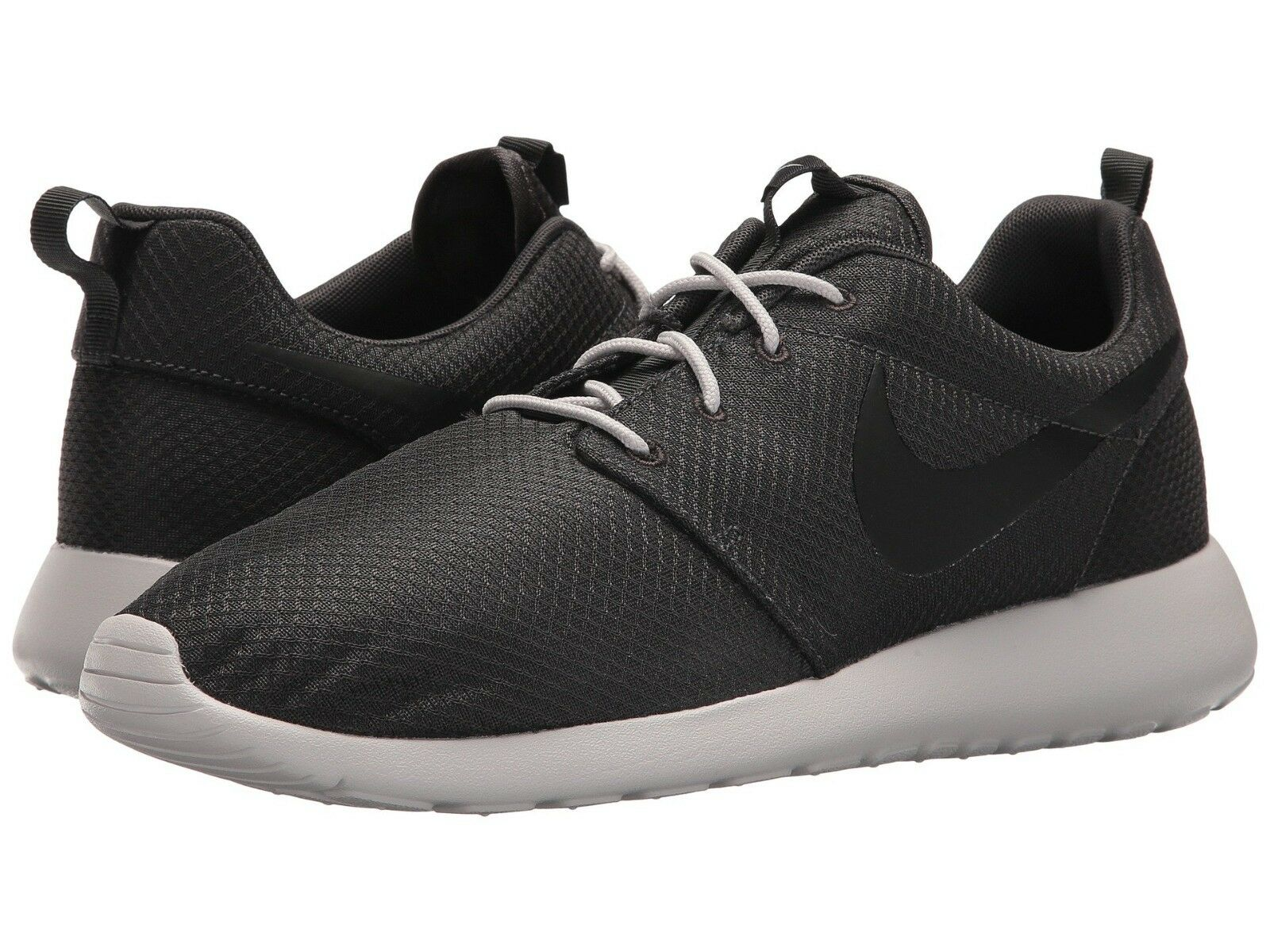 Nike Roshe One Casual Shoes Anthracite/Black Sizes 8-12 New In Box