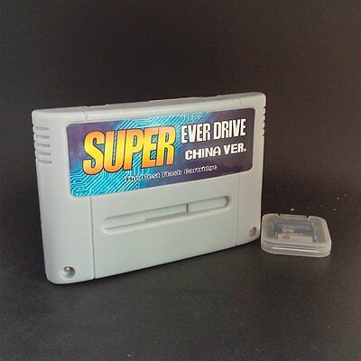 Super Everdrive China Version For SNES SFC Flash Cart With 8GB SD Card