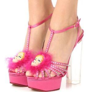 E Rose Plateforme 38 Satin Fille 5 Chaussures Olympia Barbie 38 Charlotte L Neuf qOzFxZRO