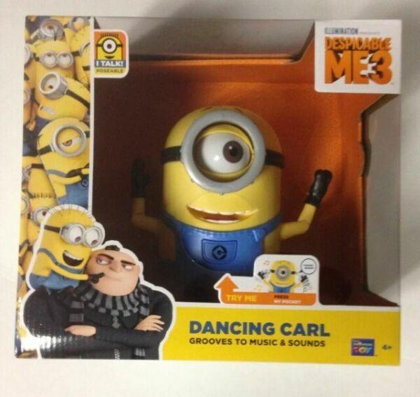 Méprisable Me Minions parlant//chant//Dancing MINION Figurines-New /& Sealed