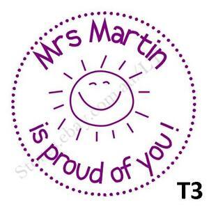 personalised custom self pre ink teacher address wedding stamps