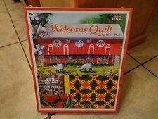 1000 PIECE--WHITE MOUNTAIN--WELCOME QUILT PUZZLE (NEW)