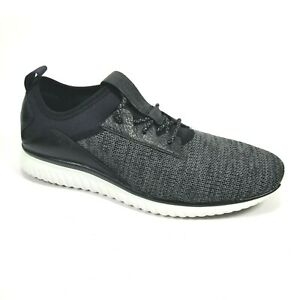 Cole Haan Men's Grand Motion Knit Sneaker Black/Optic White Size 9 C30654 New