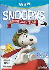 Die Peanuts - Der Film: Snoopys große Abenteuer (Nintendo Wii U, 2015, DVD-Box)