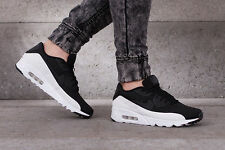NIKE AIR MAX 90 ULTRA MOIRE Trainers Shoes Gym Casual - UK 12 (EU 47.5) - Black